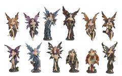 Gothic FAIRY FIGURINE Mini CHOOSE Design Faerie 91663 Sexy Fan...