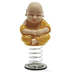Dashboard Monk Buddha Car Ornament Novelty Bobblehead Gadget ...