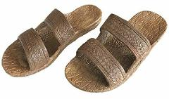 Kids Pali Hawaii Sandals Rubber Slip On Slide Jesus Flip Flops...