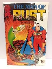 The Man of Rust #1 B Comic Book Blackthorne 1986