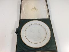 Vintage Kaiser The Royal Jubilee Plate 1952-1977 White W/ Orig...
