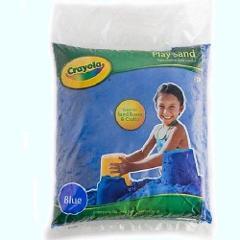 Crayola Blue Play Sand 20 Pound Bag Aquarium Safe High Quality...