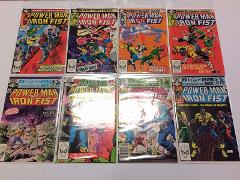 Power Man #71 to #78 Comic Book Set Lot Marvel 1981