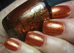 OPI Euro Centrale A WOMAN'S PRAGUE-ATIVE Bronze Copper Foil Go...
