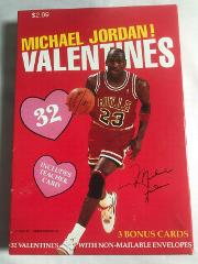 Michael Jordan 1991 School Valentines by Cleo (A038)