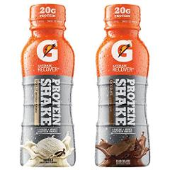 Gatorade Recover Protein Shakes, Variety Pack, 11.16 Ounce, 12...