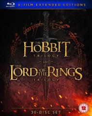 Middle Earth - Six Film Collection Extended Edition [Blu-Ray] ...