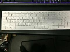 Genuine HP Wireless Keyboard P/N: 928511-001 White (Keyboard o...