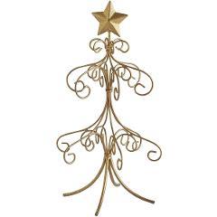Mini Gold Ornament Tree 6.25