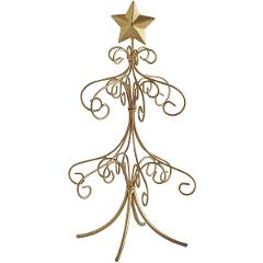 Mini Gold Ornament Tree 6.25