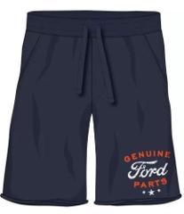 Ford Genuine Parts Sweat Pajama Lounge Cutoff Shorts Navy Blu...