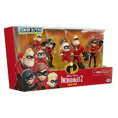 The Incredibles 2 Family 5 Pack Junior Supers Action Figures 3...