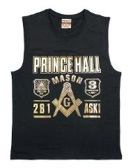 Prince Hall Mason T-shirt Masonic sleeveless muscle T-shirt P...