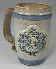MINNESOTA RENAISSANCE FESTIVAL Artisan Pottery Beer Mug Stein ...