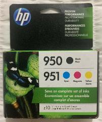 HP 950 HP 951 Multi-Color Ink Cartridge Set X4E06AN Exp 2021+ ...