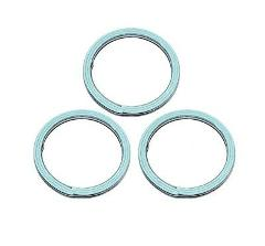 Set Of 3 Suzuki New K&L Exhaust Pipe Muffler Header Gasket 013...