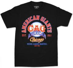 NLBM Negro Leagues Graphic Tee Chicago American Giants