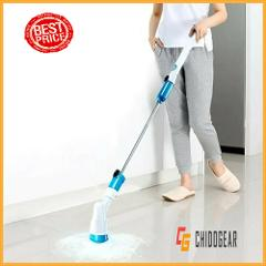 ELECTRIC POWER CLEANING SCRUBBER WITH EXTENSION HANDLE - US ST...