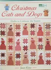 Christmas Cats & Dogs quilt pattern book hipster craft ornamen...