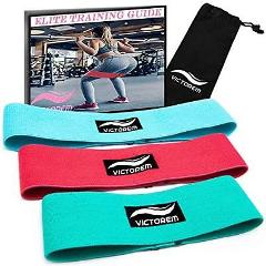 Victorem Booty Resistance Workout Hip Exercise Bands - Fitness...