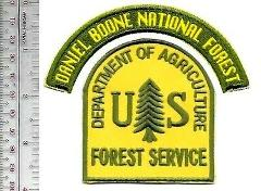 National Forest USFS Kentucky Daniel Boone National Forest US ...