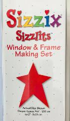 Sizzix Sizzlits Window & Frame Making Set 35 Shapes / Dies & S...