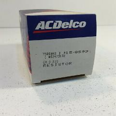 (1) Genuine ACDelco 15-8599 GM 52473132 Resistor