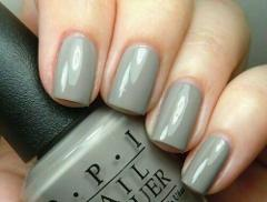 OPI Touring America SUZI TAKES THE WHEEL Concrete Gray Nail Po...