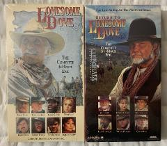Lonesome Dove & Return To Lonesome Dove VHS Tape Complete 11+ ...