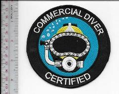 SCUBA Hard Hat Diving Commercial Diver Certified Qualification...