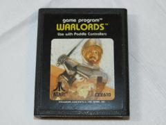 Game Program Warlords Atari CX2610 1981 vintage video game car...