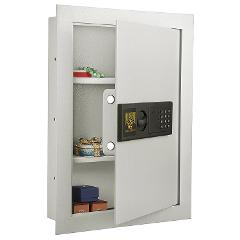 In Wall Mounted Deluxe Home Security Fireproof Electronic Safe