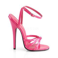 Domina Shoe Hot Pink Patent High 6