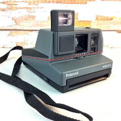 Polaroid 600 Plus Impulse Close Up Instant Camera Flash Strap ...