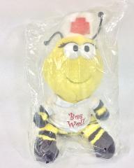 Teleflora Bee Well Bumble Bee Nurse Plush Stuffed Animal 10