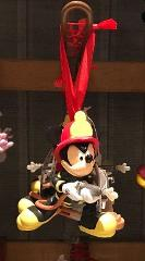 Disney Parks Exclusive Fireman Mickey Mouse Christmas Ornament...