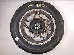 82 HONDA CB750SC CB750 CB 750SC NIGHTHAWK 750 REAR WHEEL RIM H...