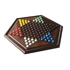 Bombay Classic style Wood Game Board (Chinese Checkers)