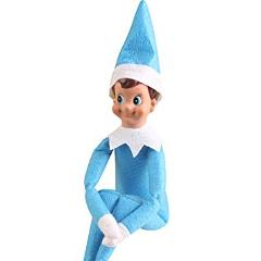 Elf on the Shelf Christmas Doll Blue Eyed Blue Outfit Boy Doll