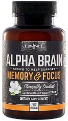 Alpha Brain Clinically Studied Nootropic for Memory Focus and ...