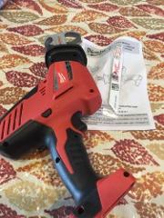 Milwaukee 2625-20 M18 Hackzall Cordless One-Handed Reciprocati...
