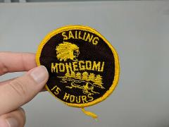 Camp Mohegomi 15 Hours Sailing Shirt Jacket Hat Patch VTG 60s ...