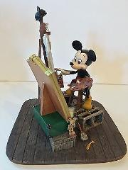 Disney Parks Self Portrait Mickey Mouse and Walt Disney Figuri...