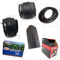 Bicycle Tires and Tubes Goodyear Bell Dupont Schrader