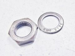 84 Honda XR350R XR350 XR 350 R Clutch Retainer Nut & Thrust Wa...