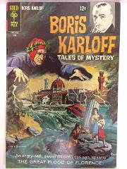Boris Karloff Tales of Mystery #22 Comic Book Whitman 1968