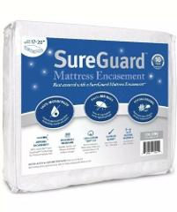 Cal King (17-20 In. Deep) Sureguard Mattress Encasement - 100%...