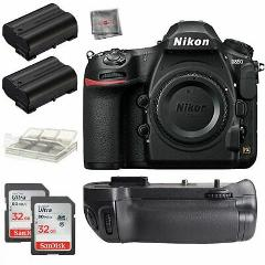 Nikon D850 45.7MP DSLR Camera Body + Battery Grip + 32gb Acces...