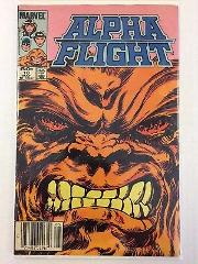 Alpha Flight #10 Comic Book Marvel 1984