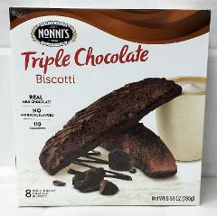 Nonni's Biscotti Triple Chocolate 6.88 oz Nonnis